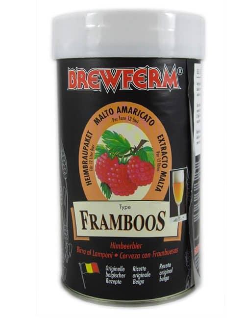 brewferm framboos beer kit