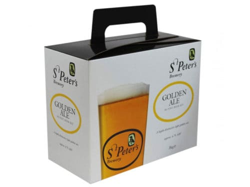 st peters golden ale beer kit
