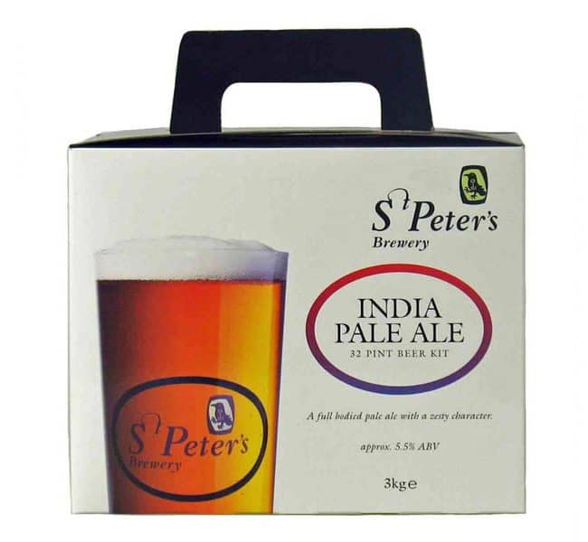 st peters india pale ale beer kit