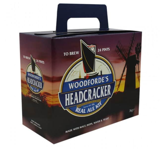 woodfordes headcracker real ale kit