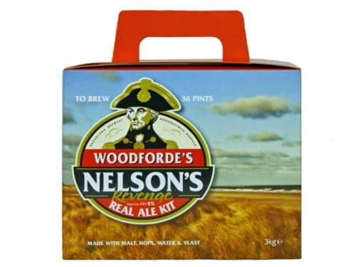 woodfordes nelsons revenge real ale kit