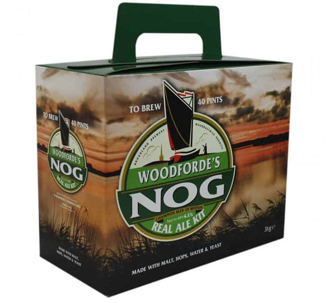 woodfordes nog real ale kit