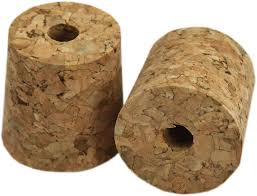 1 Gallon Size Corks Bored