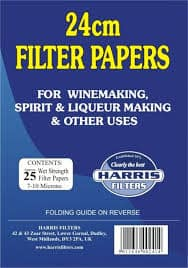 Harris Vin papers 24cm pack of 25