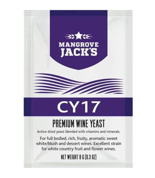 Mangrove Jacks Yeast CY17