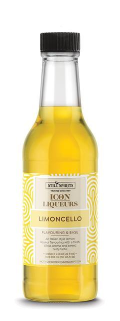 SS ICON Limoncello 330 bottle.northdevon homebrews