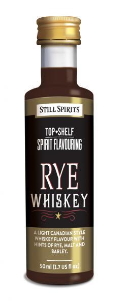 rye whisky spirits