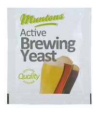 Muntons Active Beer Brewing Yeast 6gm