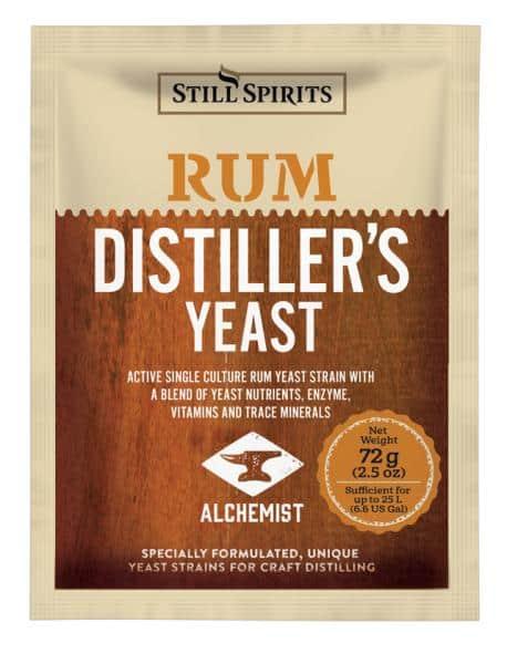 Rum Distillers Yeast
