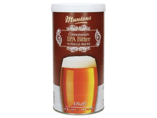muntons connoisseurs ipa bitter beer kit