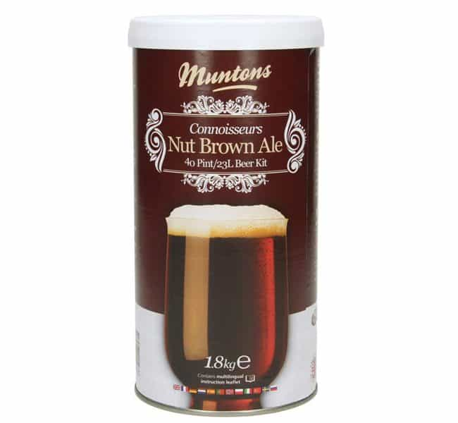 muntons connoisseurs nut brown ale beer kit