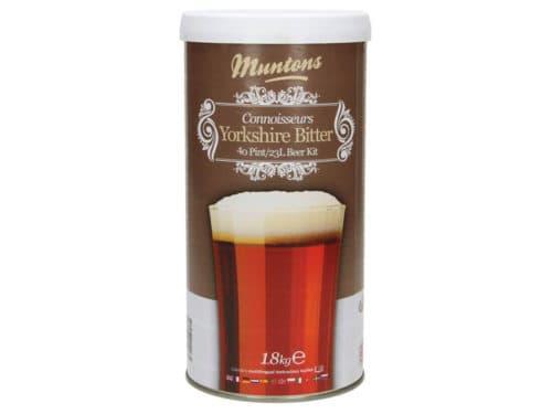 muntons connoisseurs yorkshire bitter beer kit