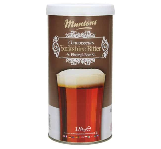 muntons connoisseurs yorkshire bitter beer kit