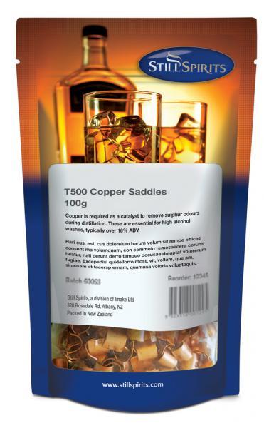 T500 copper saddles