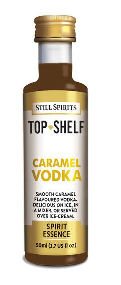 spirits caramel vodka