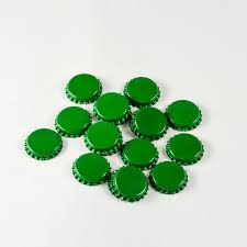 crown caps beer Green 1