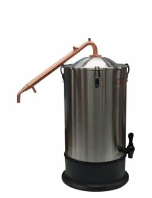 T500 Alembic Copper Condenser with Steel lid Boiler