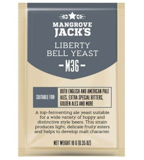 liberty bell beer yeast mangrove jacks