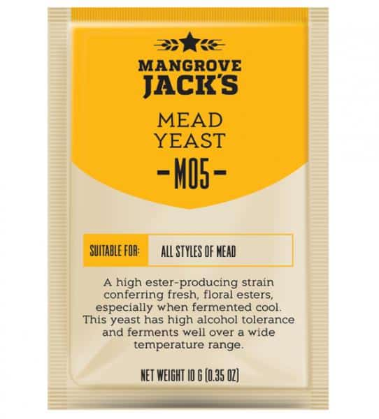 mangrove jacks mead yeast