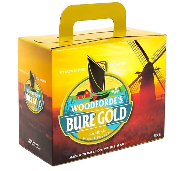woodfordes bure gold norfolk ale kit