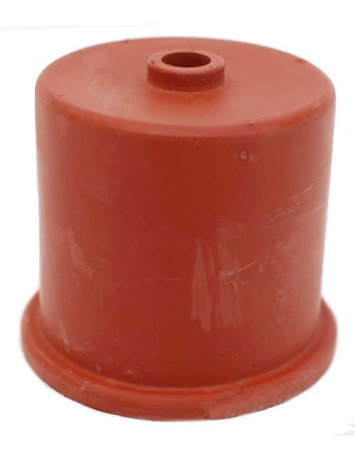 50mm Rubber Cap With Hole