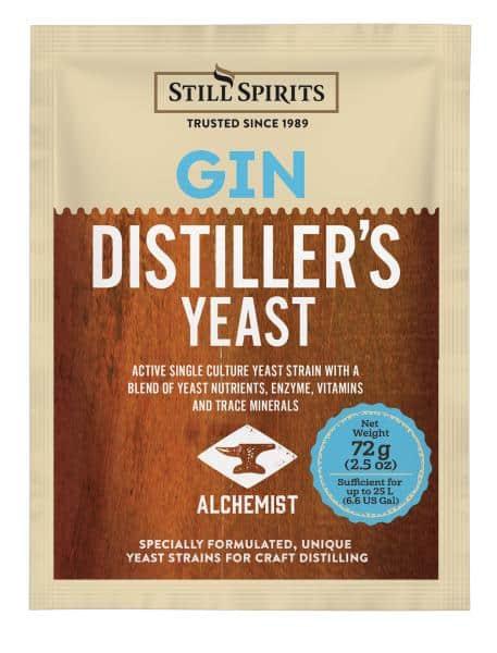 gin yeast distillers spirits
