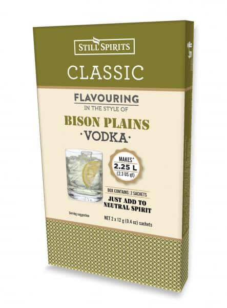 bison plains vodka spirits