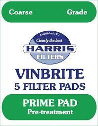 vinebrite filter pads x5