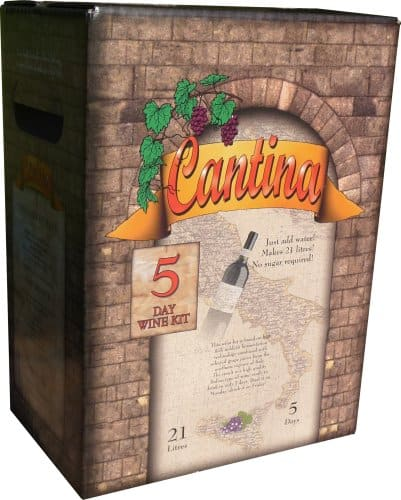 110 cantina wine kit 30 bottle 5day