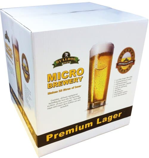 23301 bulldog brewery lager kit