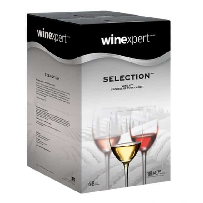 winexpert selection international wine making kit
