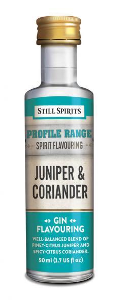 gin profil juniper coriander