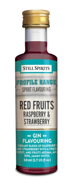 gin profil red fruits strawberry raspberry
