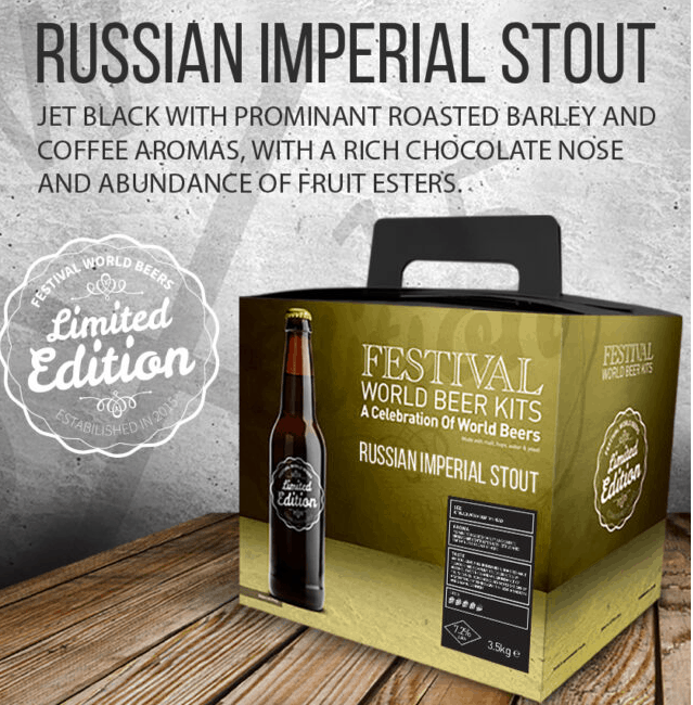 festival russian stout beer kit