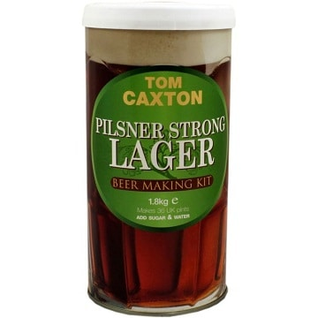 Tom caxton pilsner lager beer kit