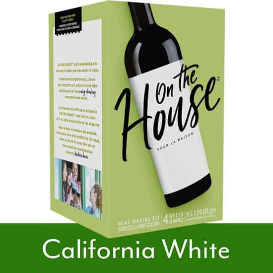 On The House California White