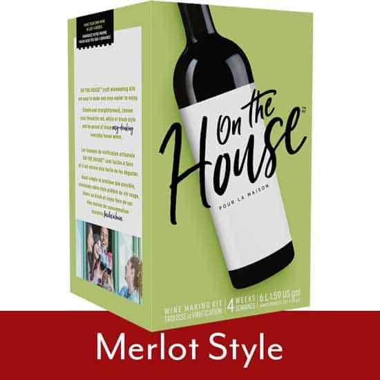 On The House Merlot Style