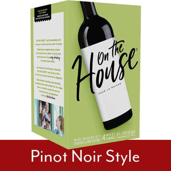 On The House Pinot Noir
