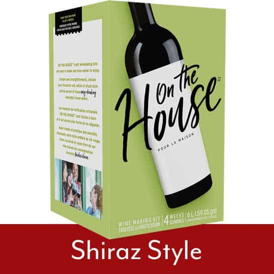 On The House Shiraz Style
