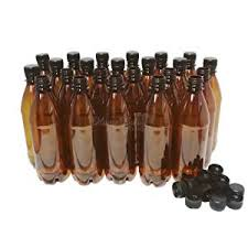 amber bottle screw cap.