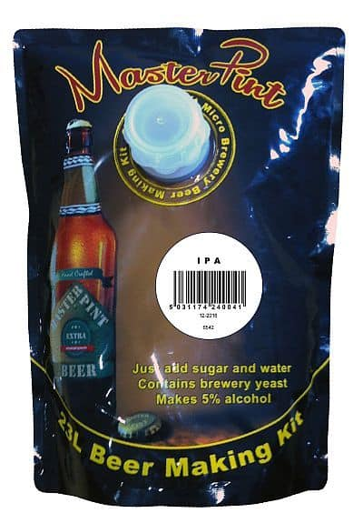master pint ipa beer kit north devon homebrews