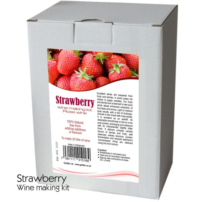 Strawberry Wine Kit 20l