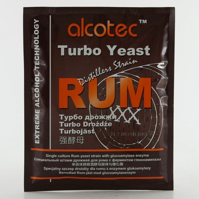 alcotec turbo rum yeast 73g